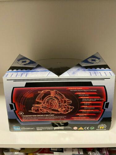 Cast Federation Droid Fighter 2005 NEUF STAR WARS TITANIUM SERIES DIE