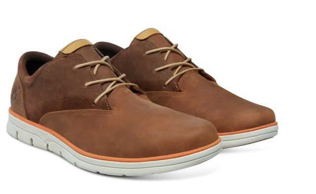 TIMBERLAND Mens Bradstreet PT Shoes Oxford A15QF Brown Size: UK 8