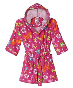 St Eve Girls Beach Cover-Up-Pink Flamingo