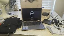 dell laptop inspiron 13 5000 model 5378 2 in 1 tablet dvd drive touch screen bag