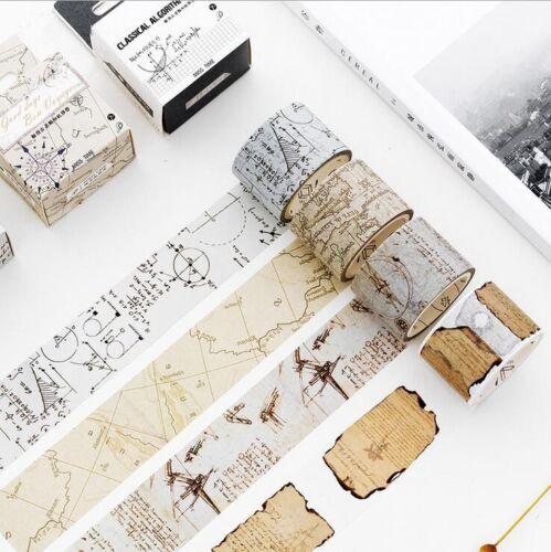 Retro series Creative Washi Tape landscape Album diary Scrapbooking stickers 5M