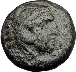 ALEXANDER-III-the-Great-325BC-Macedonia-Ancient-Greek-Coin-HERCULES-CLUB-i62576