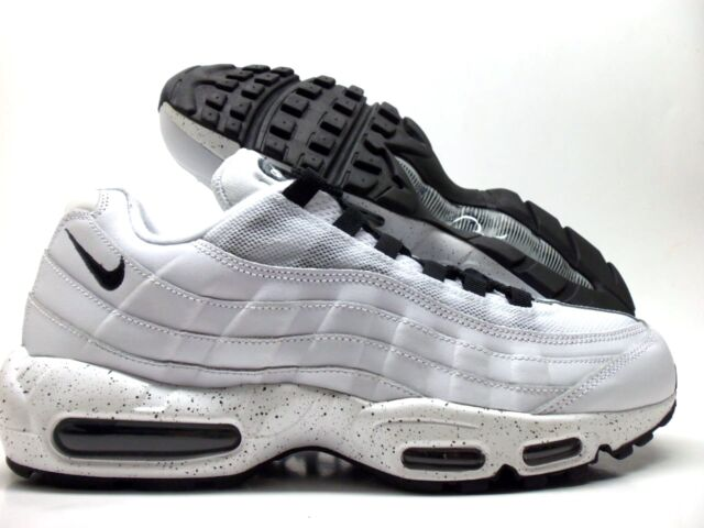 NIKE AIR MAX 95 ID WHITEBLACKWHITE SIZE MEN'S 11.5 [818592 992]