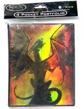 Max Protection 4 Pocket Portfolio Fire Breather Dragon