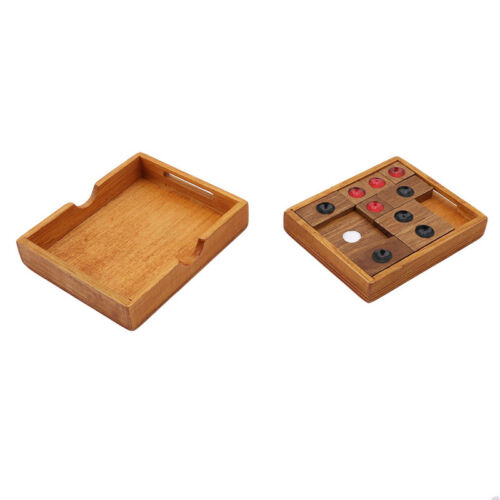 Kids Wooden Slide Escape Maze Puzzle Toys Brainstorming Wood Toy Child Gift Hot