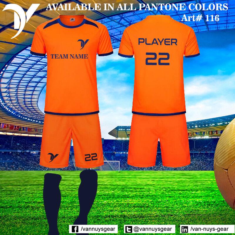 Kit de fútbol Conjunto de fútbol Vans 25 personalizar equipo Club uniformes  25 set