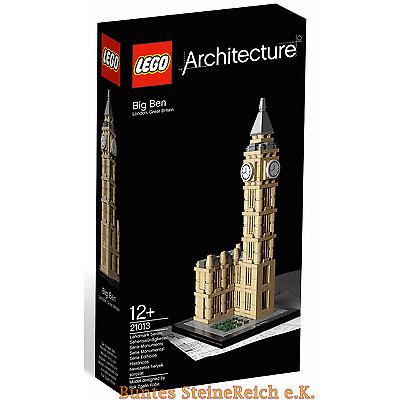 LEGO® Architecture: 21013 Big Ben & 0.-€ Versand & OVP & NEU !