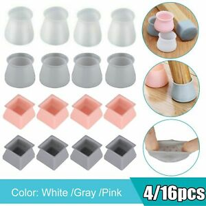 Details about  /16pcs Chair Leg Silicone Pad Furniture Table Feet Cover Floor Protector Use A