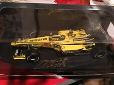 Formula 1 1/18 JORDAN EJ10 2000 F1 HEINZ-HARALD FRENTZEN Hand Sign