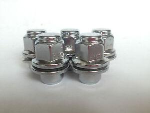 Datsun-240Z-260Z-280Z-20pcs-Chrome-Shank-Wheel-Nuts-12mm-x-1-25