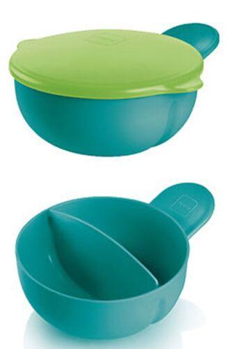 sortiert *NEUHEIT* MAM Feeding Bowl Schale mit 2 Fächern und Deckel ab 6 Mon