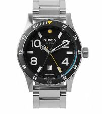 Nixon Diplomat SS A277000 Black Dial Stainless Steel Band Men's Watch
