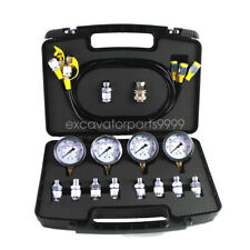 10254060 Mpa Excavator Hydraulic Pressure Gauge Test Kit With Cat Quick Adapter