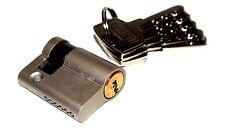 40mm Halbzylinder Zylinderschloss Profilzylinder mit 5 Schlüsseln 25+10+5mm