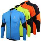 Arsuxeo Winter Warm Bike Bicycle Jacket Wear Wind Coat Long Sleeve Jersey P6G4