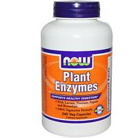 Now Foods - Plant Enzymes - 240 Vegetarian Caps - Supports Digestive Health