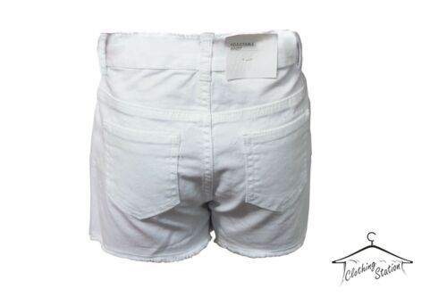 GIRL'S KIDS SUMMER WHITE DENIM SHORTS PANT CODE G-26