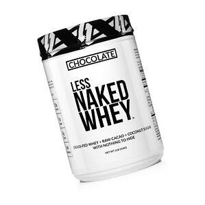 Chocolate Goat Whey Protein Powder   Less Naked Goat - 2lb