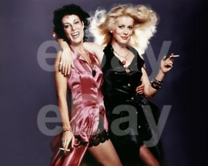 Zig-Zig-1975-Bernadette-Lafont-Catherine-Deneuve-10x8-Photo