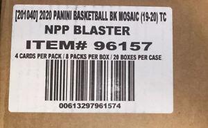 2019-20-PANINI-MOSAIC-BASKETBALL-NBA-20-BOX-FACTORY-SEALED-BLASTER-CASE