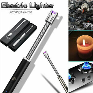 ARC-Flameless-Windproof-Plasma-Lighter-Aluminum-Metal-USB-Electric-Rechargeable