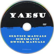 Yaesu Service Owner Manuals & Schematics- PDFs on DVD - Huge Collection Latest