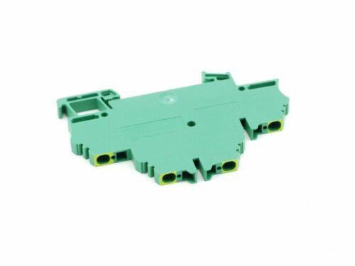 5x weidmüller ZdK 2.5pe doble -/más bastón jefe de protección series borna PE 2,5mm²