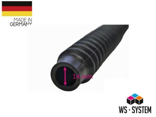 2 Stück Universal Faltenbalg Manschette Anhänger Boot L 128mm-53m Ø 20mm