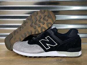 New Balance 567 M576PKG Retro Shoes Black Gray White England SZ ...