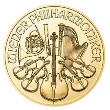 50 Euro Austria BU 0,5 OZ Gold Wiener Philharmoniker zufällige Jahrgangsauswahl