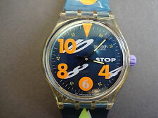 SWATCH MONTRE BRACELET STOP CHRONOMETRE  MOVIMENTO SSK102 HOMME FEMME WATCH 1993