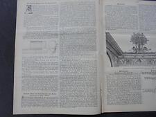 1898 Baugewerkszeitung 14 / Berlin Firma Quantmeyer Wilhelmstr. 55