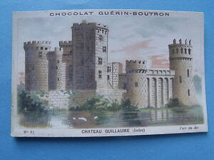 CHROMOS-chocolat-Guerin-Boutron-Chateau-Guillaume-Indre-lot-539