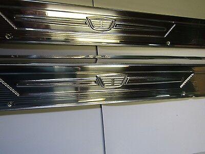 Mopar 57 58 Dodge Coronet / Royal Sill Plates / Scuff Plates 1957 1958 NEW