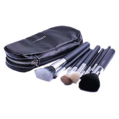 12 Pcs Kits New Pro Cosmetic Brush Makeup Set Make up Tool Dres+Black Case