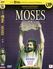 The Bible  - The Story of Moses - Ben Kingsley Frank Langella  (NEW) DVD