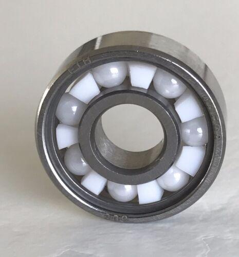 Hybridlager 608 8x22x7 Leichtlauf mit Keramikkugeln ZrO2 ABEC 9 Fidget Spinner