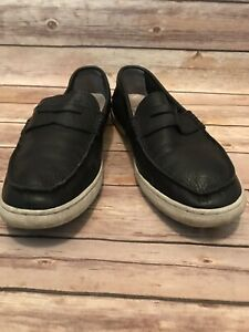 ede6a9fd497 Men s Cole Haan Grand OS Pinch Maine C13431 Black Loafers Sz 10 M ...