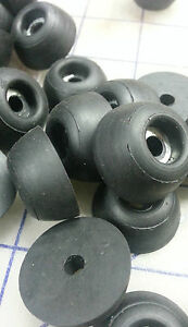 2979-Pack-of-10-rubber-recessed-Bumpers-A-1-B-7-16-C-3-16-D-1-4-E-3-8
