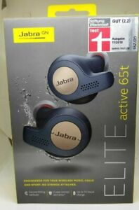 Jabra Elite Active 65t True Wireless Sport Earbuds Copper Blue 15 615822010801 Ebay