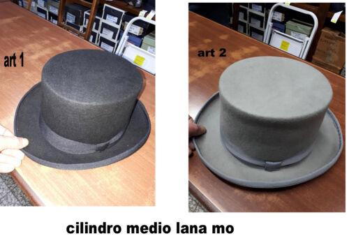 cappello cilindro medio nero grigio cerimonia hat man inverno 2018 a 15 moc