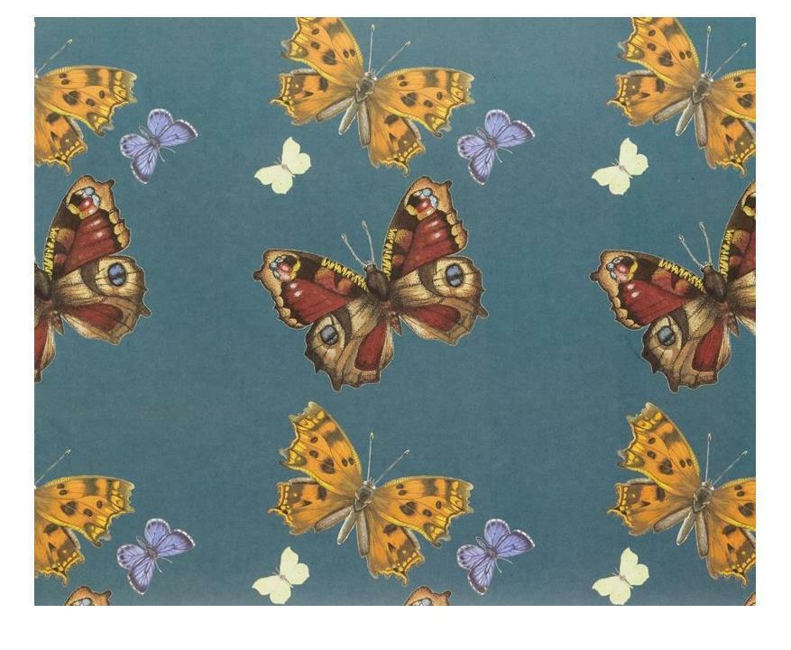 1 Hoja De Mariposa De Lujo Diseñador Envoltura de regalo papel de embalaje