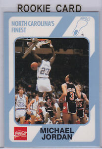 Details About Michael Jordan Rookie Card North Carolinas Finest Rc Coca Cola Basketball Bulls