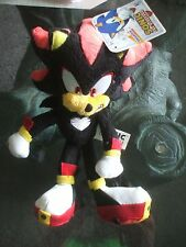 Shadow Sonic the Hedgehog Plush 20th Anniversary Hedgehog Toy Figure Jazwares