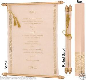 Image is loading Elegant-Scroll-Design-Wedding-Invitation-Card-Wedding -Supplies