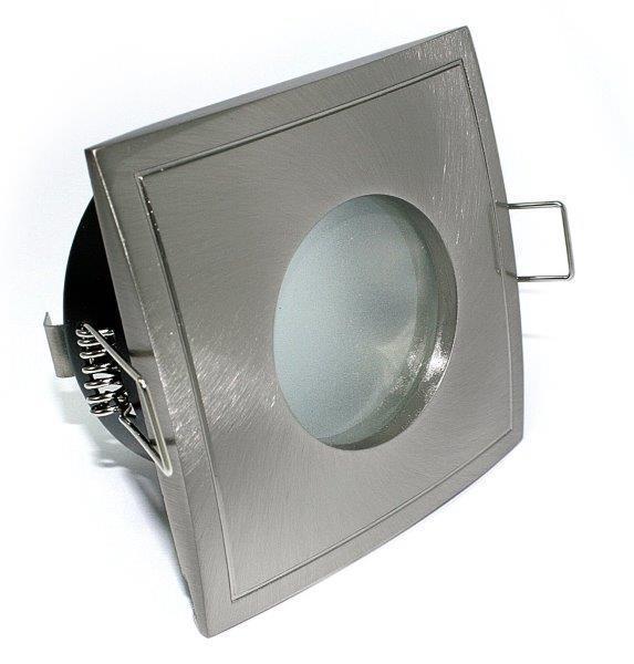 12V Niedervolt 5W Einbaustrahler BAD Spot AQUA SQUARE MR16 Leuchtmittel 5Watt NV