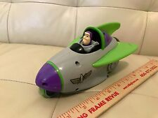 Disney Toy Story 3 Shake N Go Buzz Lightyear Rocket car Spaceship working