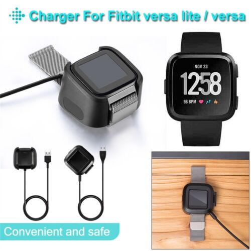 Fitbit versa Dock Cable Base Charger Cradle Station For Fitbit versa lite