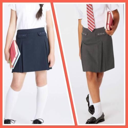 M/&S School Beautiful Girls Junior Girls/' Embroided Skirt Adjustable Waist  NEW!
