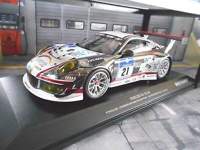 24h Nürburgring 2016 Wochenspiegel Manthey 1:18 Minichamps Porsche 911 GT3 R